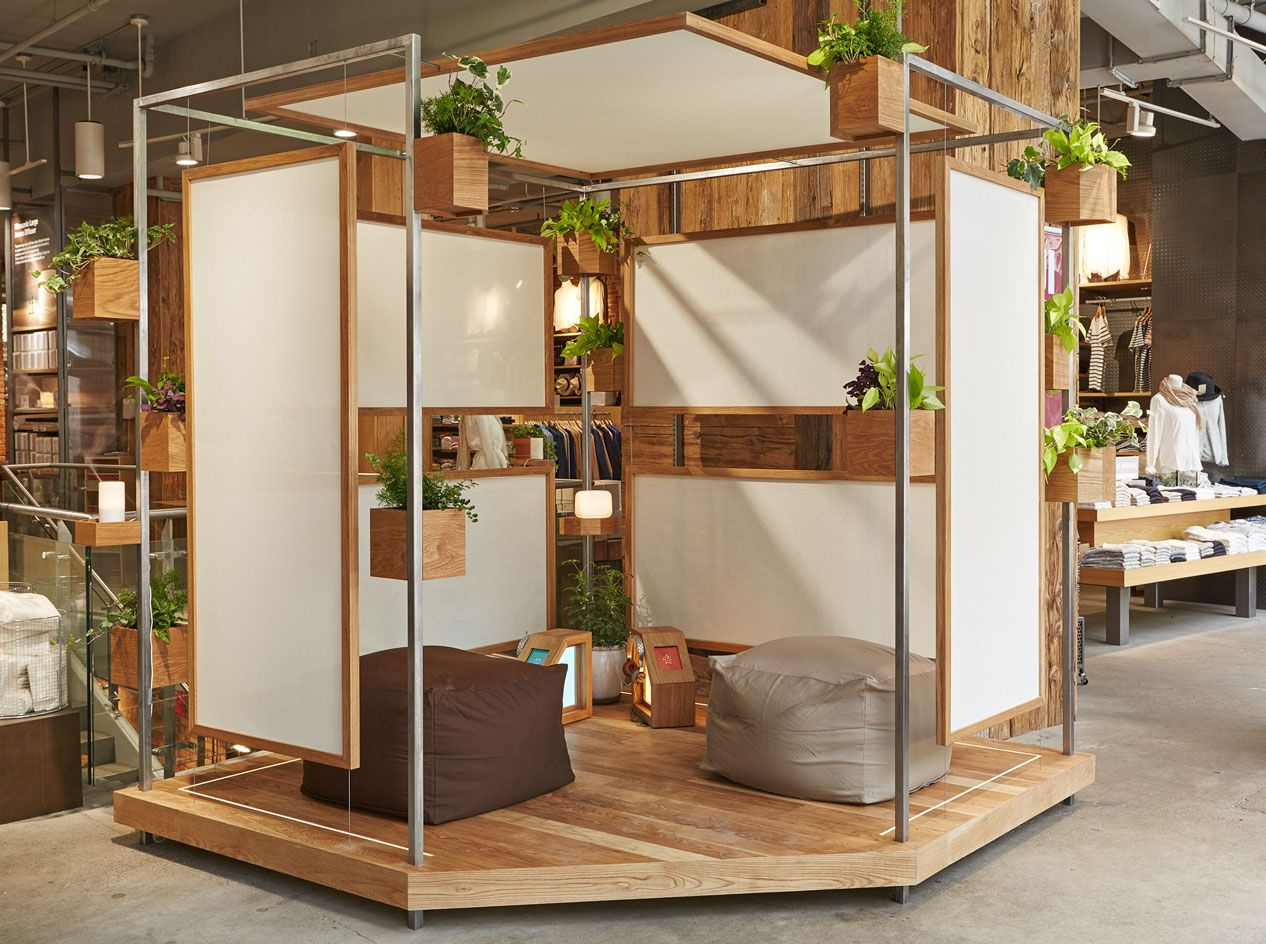 Muji Mobili ~ Soft spot: mujis pit stop offers some much needed r&r during new