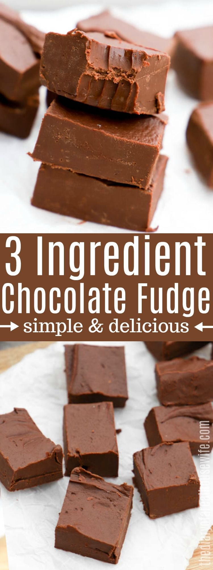 Easy Chocolate Fudge • The Diary of a Real Housewife