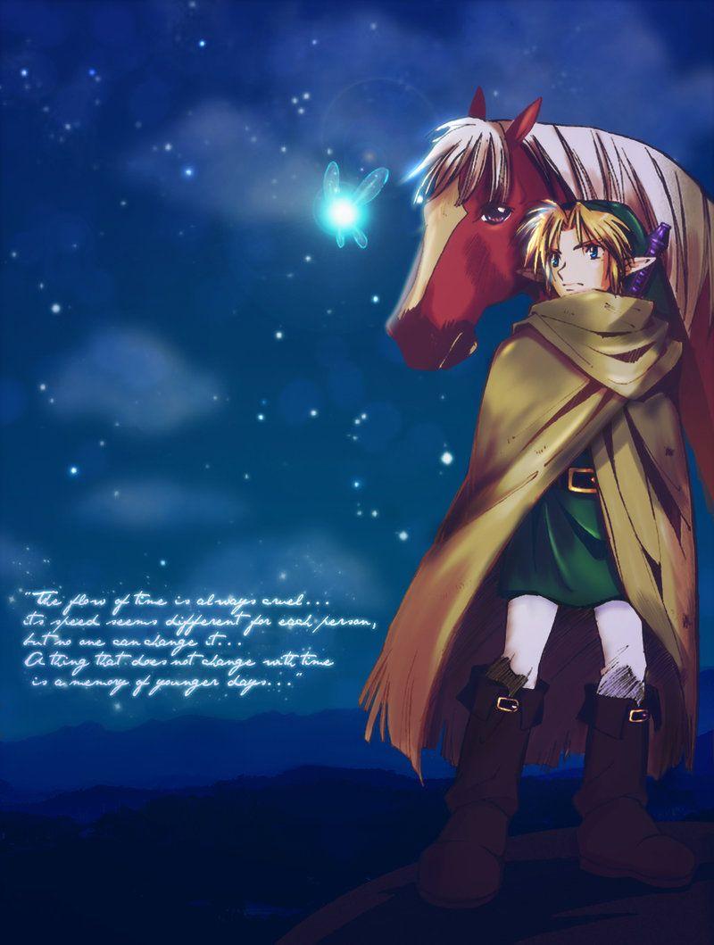 The Hero Of Time Zelda Anime Hero Legend Of Zelda