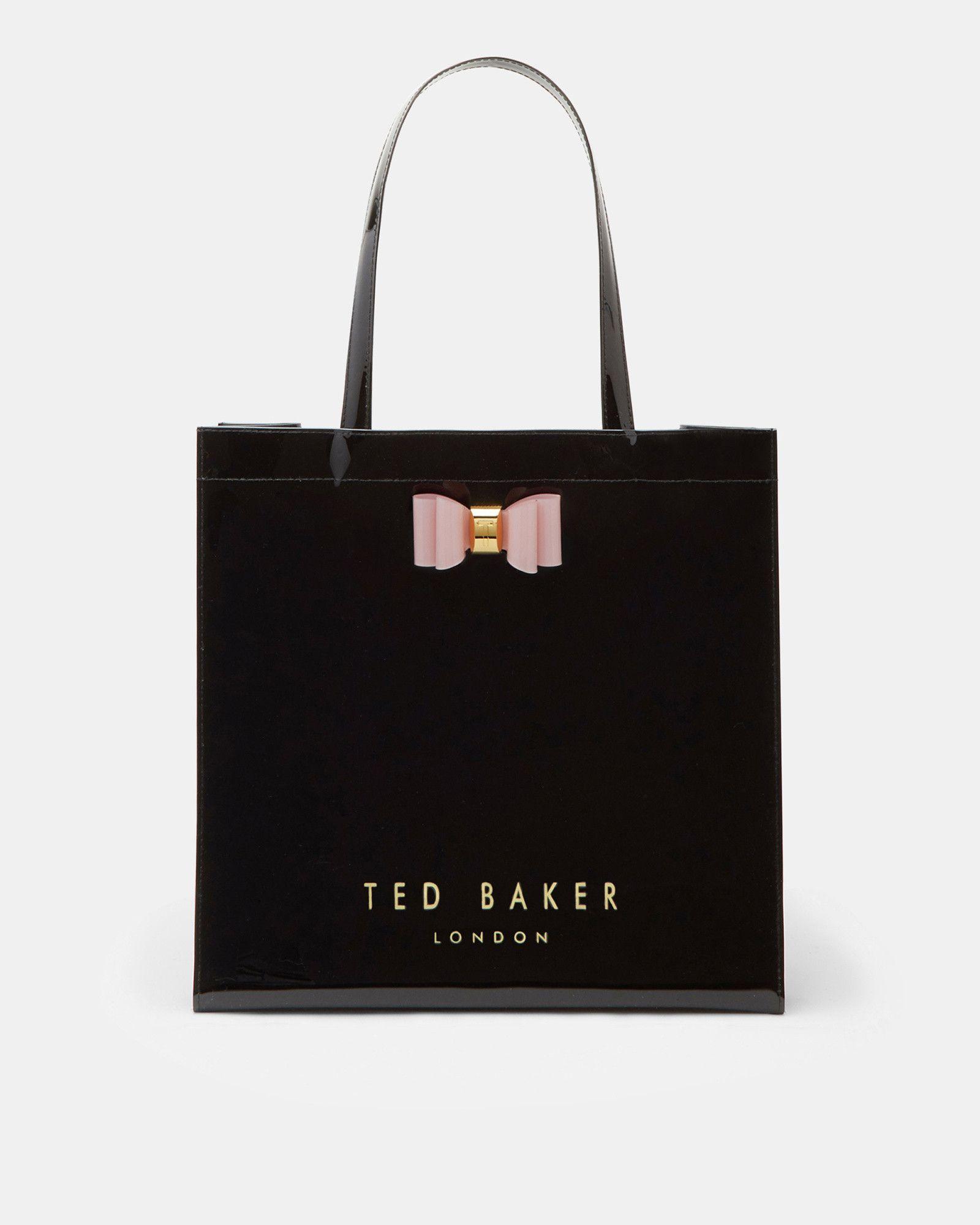 effee40a52b0 Ted Baker Bow detail large shopper bag Black