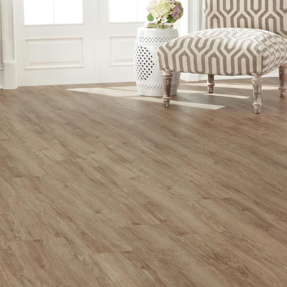 French Oak Luxury Vinyl Plank Flooring (24.74 Sq. Ft. / Case)