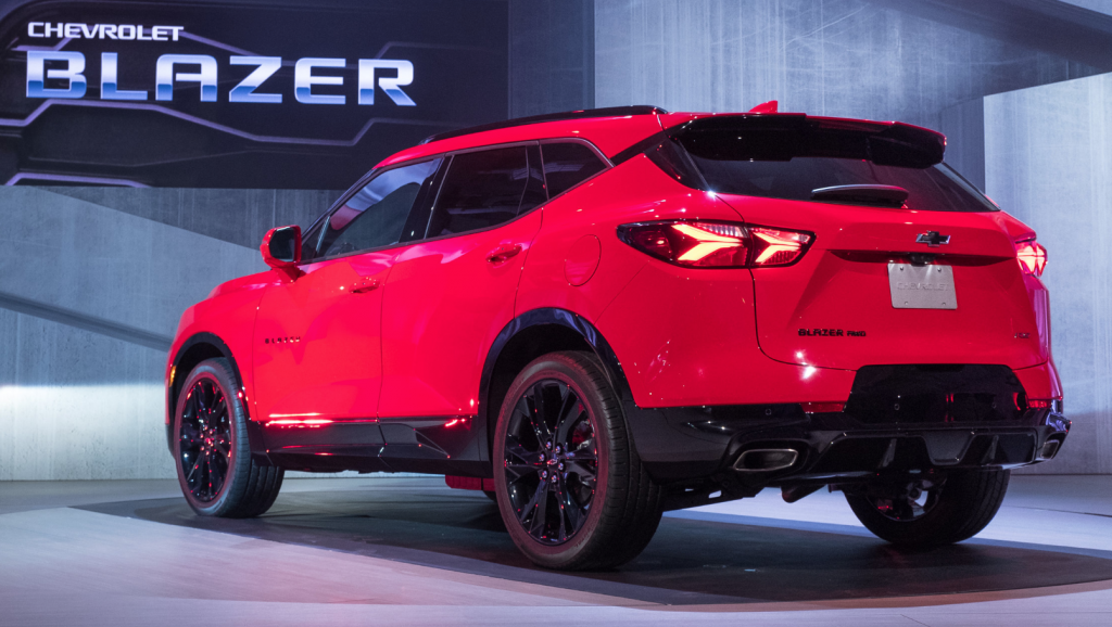 2020 Chevrolet Blazer 2 0t Priced At 33 995 Chevrolet Blazer