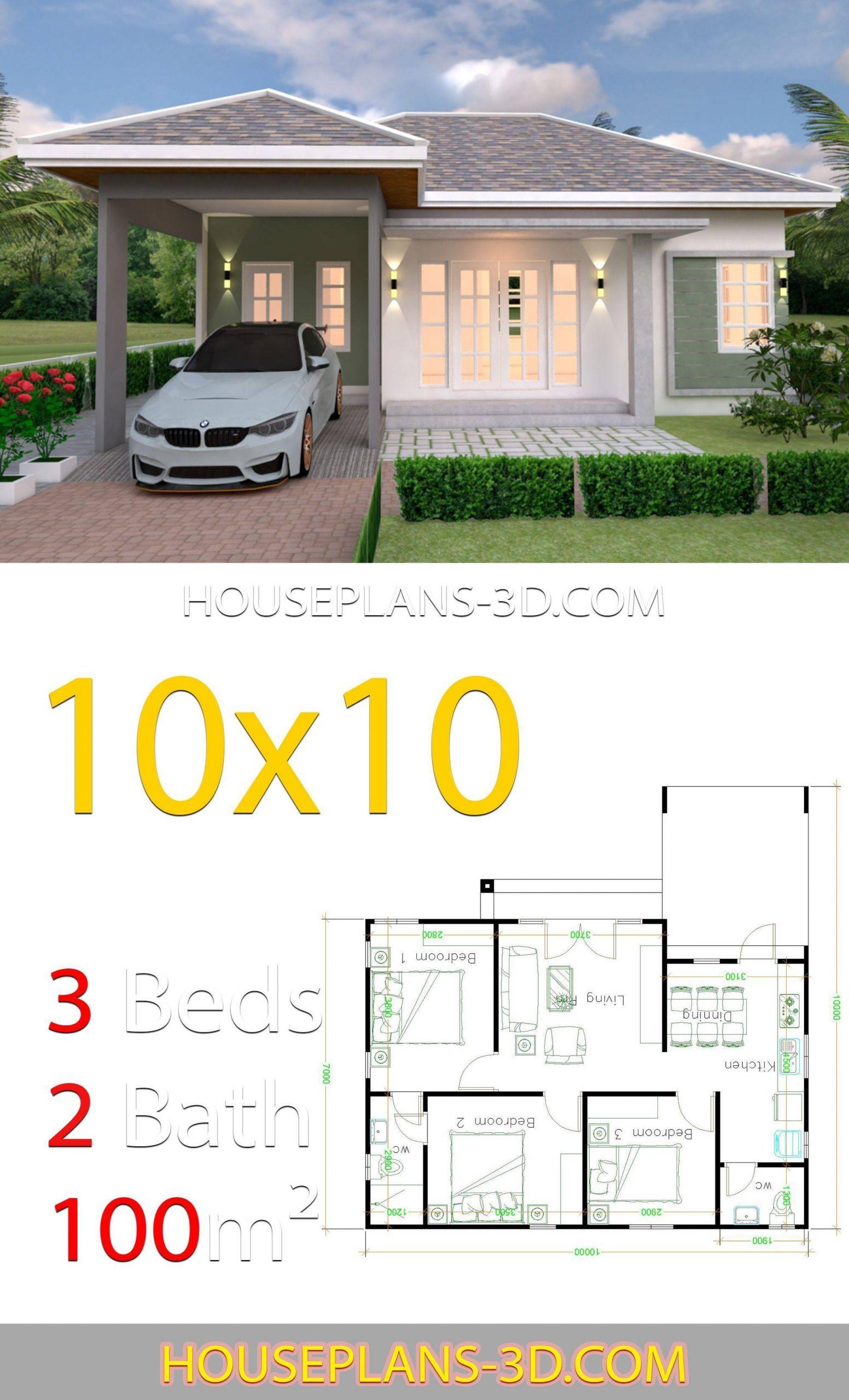 10x10 Bedroom: Design Decoration 2020