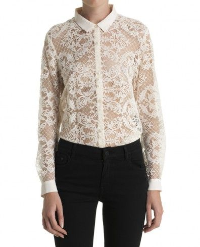 2f82cbc6cd Lace shirt - All clothing - Women - The Kooples   Ladies Fashion ...