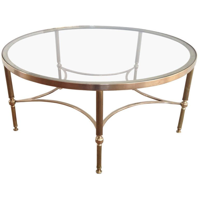 1970 S Round Coffee Table 1stdibs Com S Izobrazheniyami