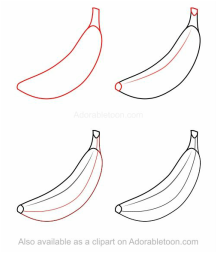 Being Able To Accurately Draw What You See Or Imagine Can Be A Useful Skill To Have During The Creative Thought Pro Fruits Drawing Flower Drawing Easy Drawings