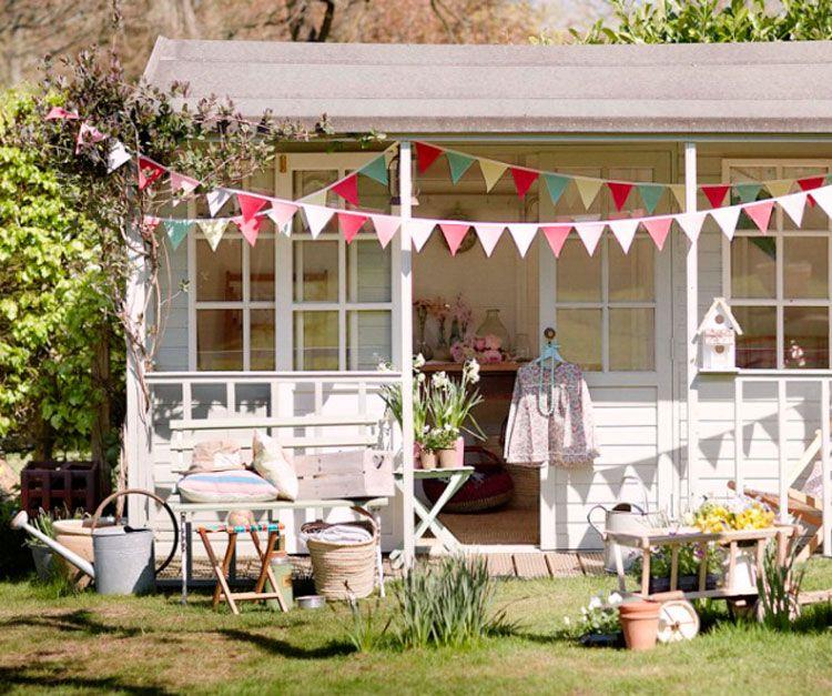 lovely shabby garden shed gartenhaus pinterest. Black Bedroom Furniture Sets. Home Design Ideas