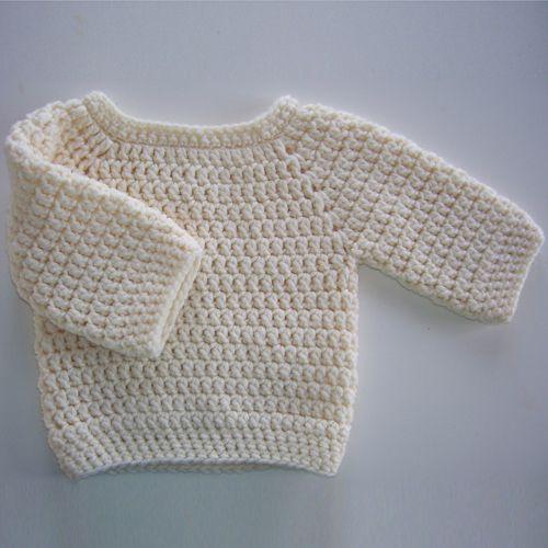 Crochet For Children: Baby Bumpy Sweater - Free Pattern | Photo ...
