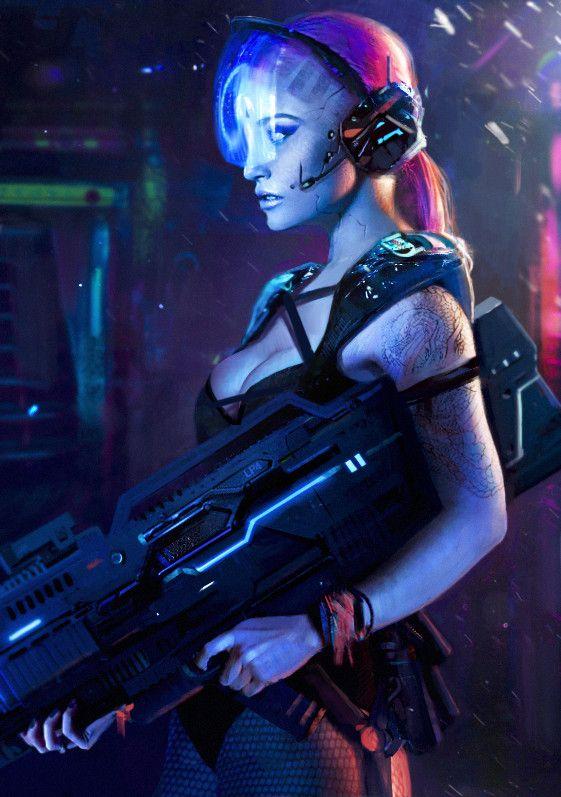 World of cyberpunk on ArtStation at https://nanadhebuadze.artstation.com/projects/8owkE
