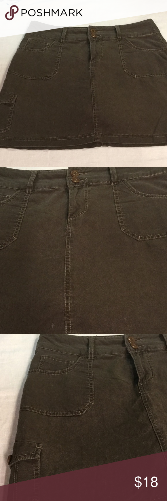 "Sonoma linen cotton blend 6 shirt Ex.used condition..measures 33"" waist..16"" length..SKORT..SHORTS BELOW Sonoma Shorts Skorts"