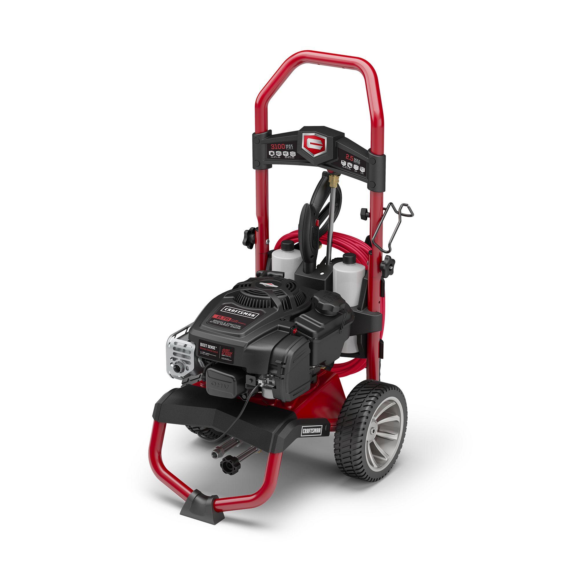 580. 752330 craftsman pressure washer 6. 75 hp 2550 psi 2 gpm.