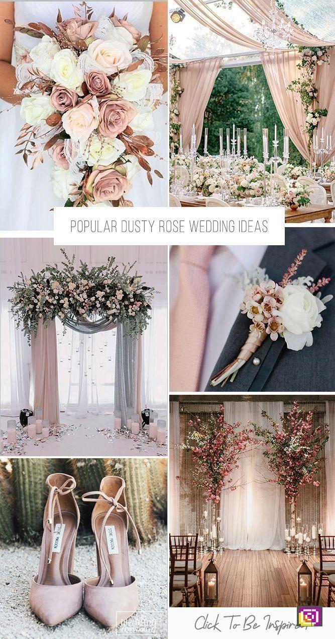 wedding 30 Popular Dusty Rose Wedding Ideas,  dusty Ideas popular Rose Wedding weddingconcept is part of Dusty rose wedding -