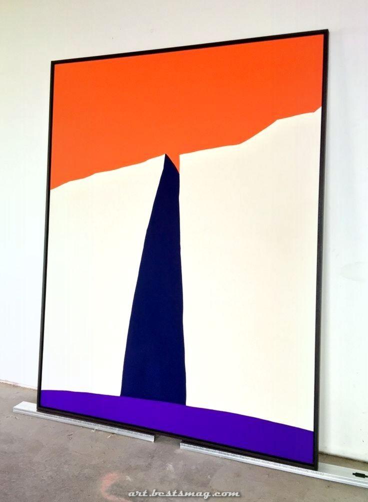 chevron d'eau // — paul kremer: Crevice 3 en 2020   Peinture abstraite moderne, Les arts ...