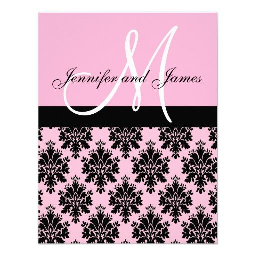 This DealsPink Damask Monogram Wedding Invitationsso please read the important details before your purchasing anyway here is the best buy