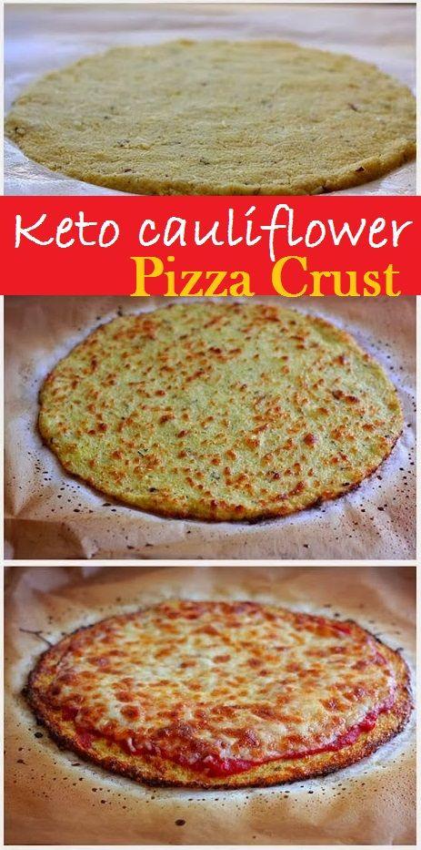 Keto Cauliflower Pizza Crust Recipes