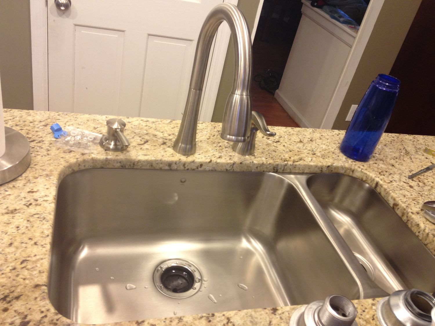 How to Unclog Kitchen Sink Drain with Garbage Disposal - Kitchen ...