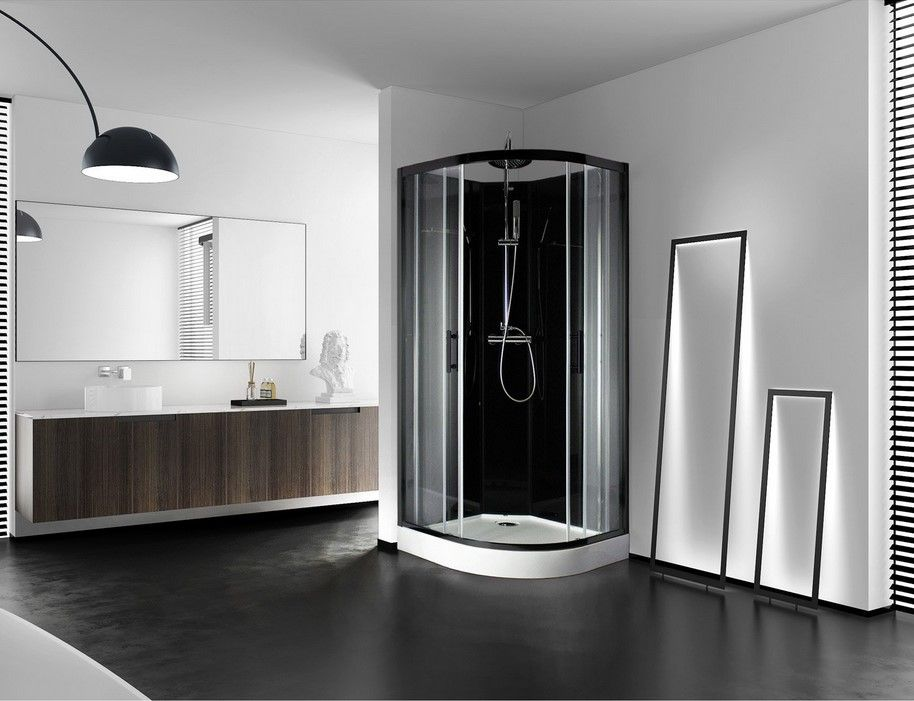 cabine de douche 1 4 de cercle lys leroy merlin leroy. Black Bedroom Furniture Sets. Home Design Ideas