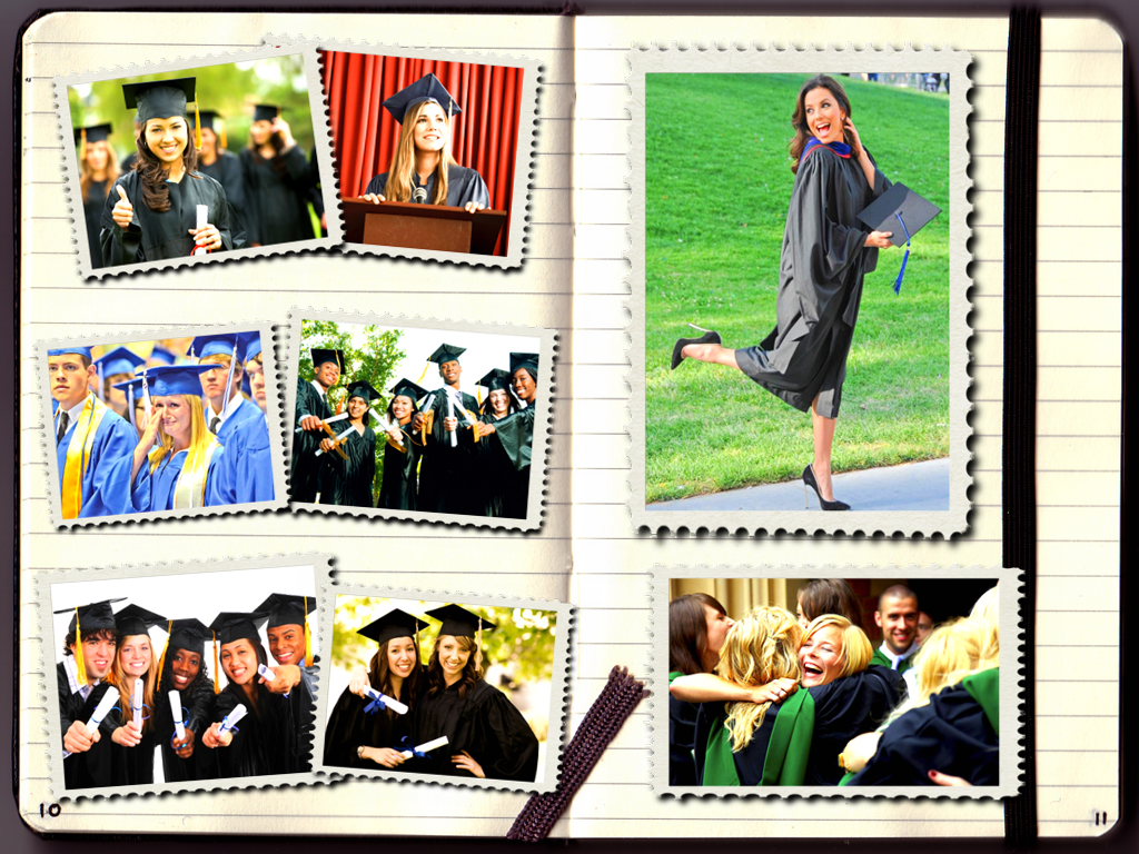 make your own graduation photo album with photo collage maker