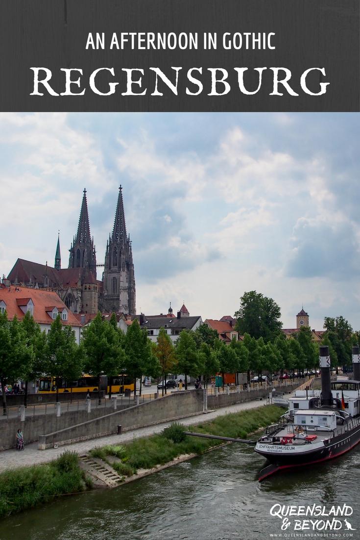 Quick stopover in Gothic Regensburg Australia