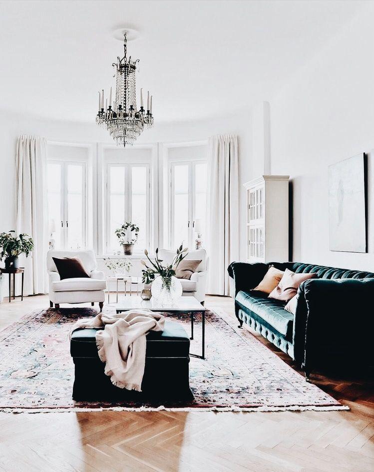 Modern Glam Luxe Living Room Home Decor Inspo Chic Glamorous Style