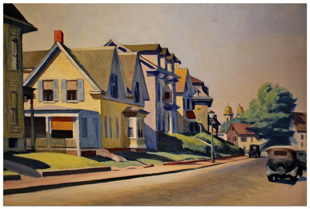 Sun on Prospect Street, 1934 - Edward Hopper