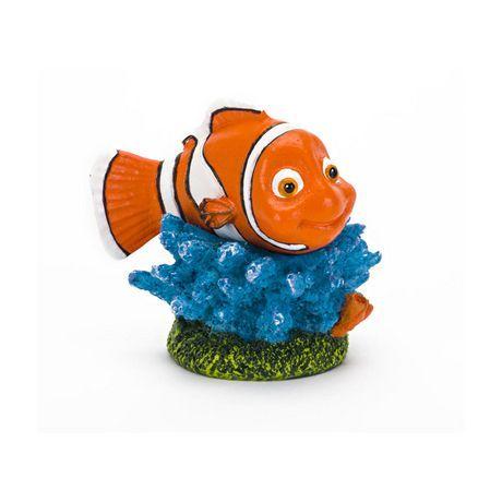 PennPlax Penn Plax Nemo On Coral Tank Ornament Multi