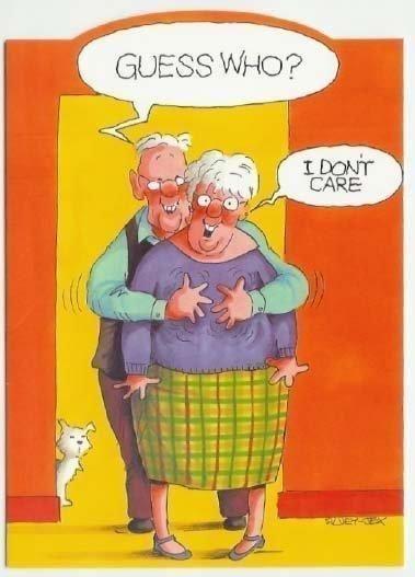old senior citizen humor old age jokes cartoons - Halloween Jokes For Seniors