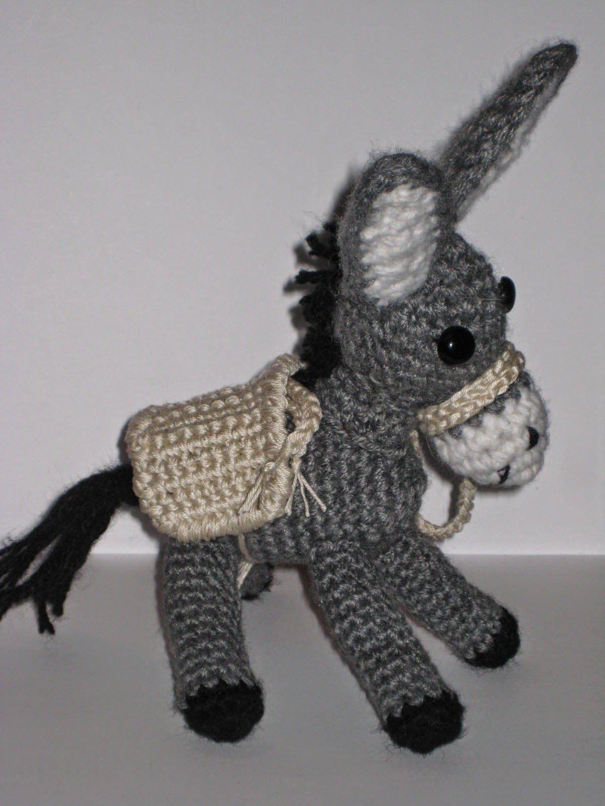 Crochet Donkey | My crochet patterns - Pletionica | Pinterest