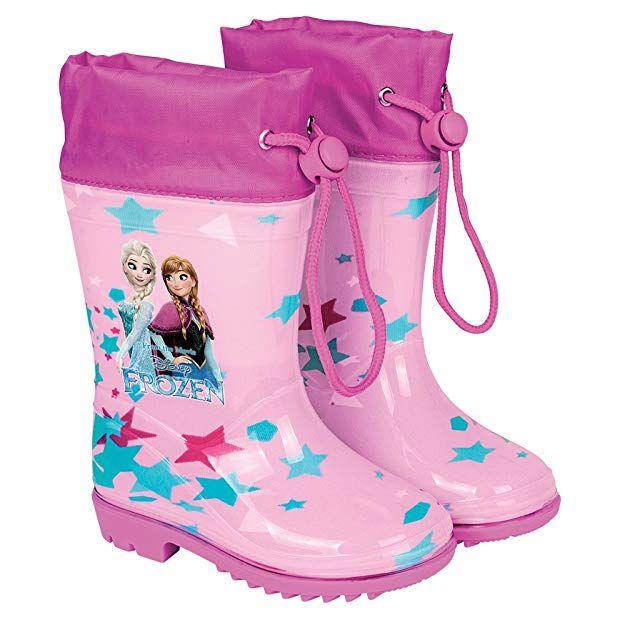 e0a05a685e4e PERLETTI Disney Frozen Rain Boots for Kids - Waterproof Wellies with Anti  Slip Outsole - Colored