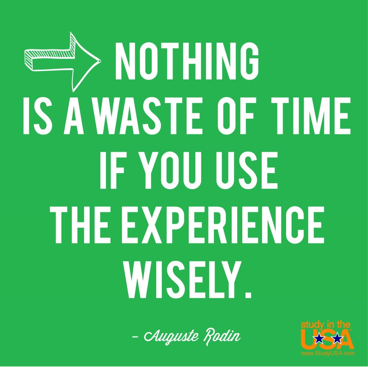 Nothing is a waste of time if you use the experience