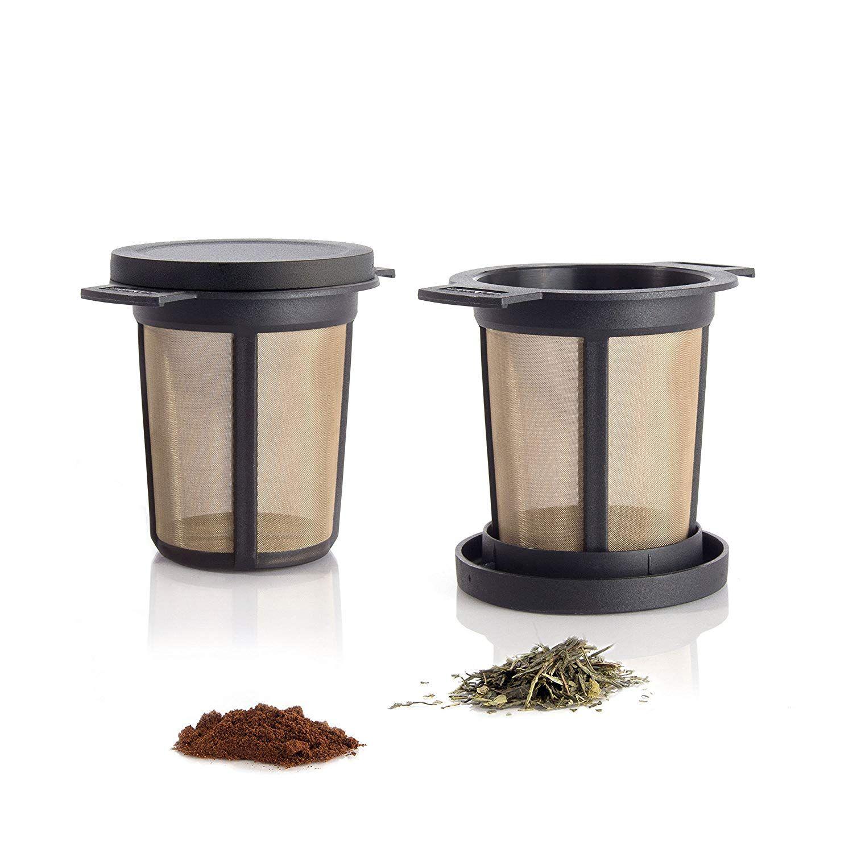 Finum Permanent Filter Brewing Basket M, Black, M Amazoncouk