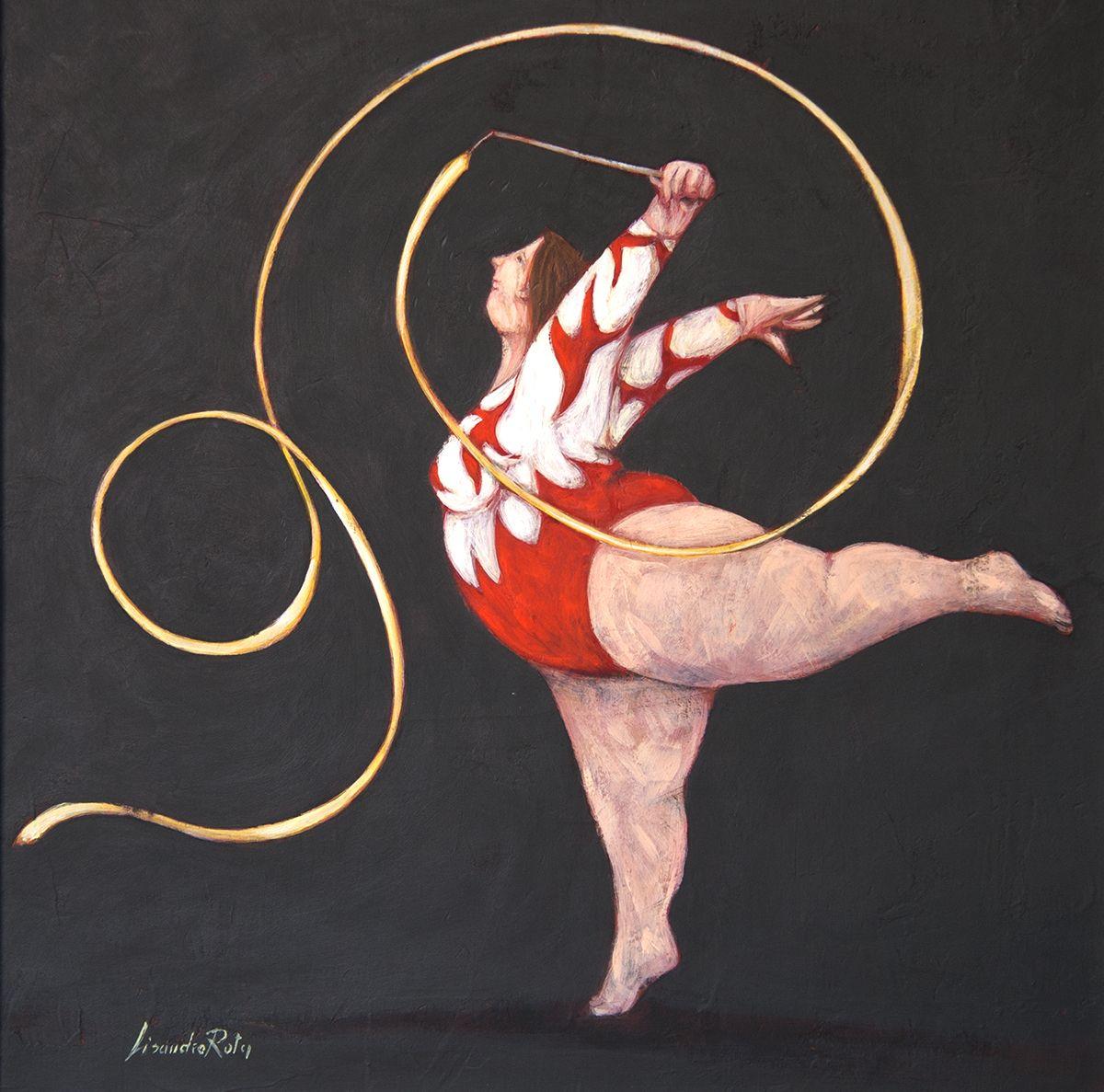 Le spirali saggio di ginnastica artistica i cartoni animati