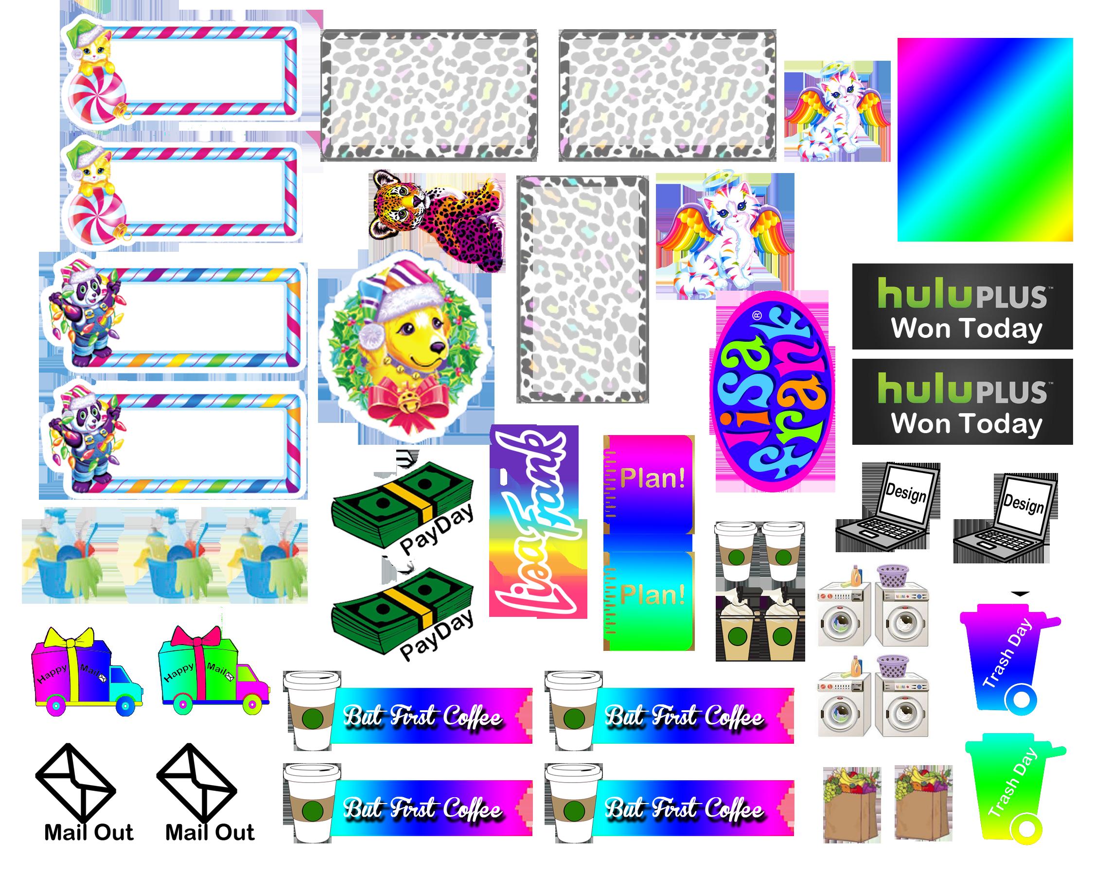 Subject Sticker Design