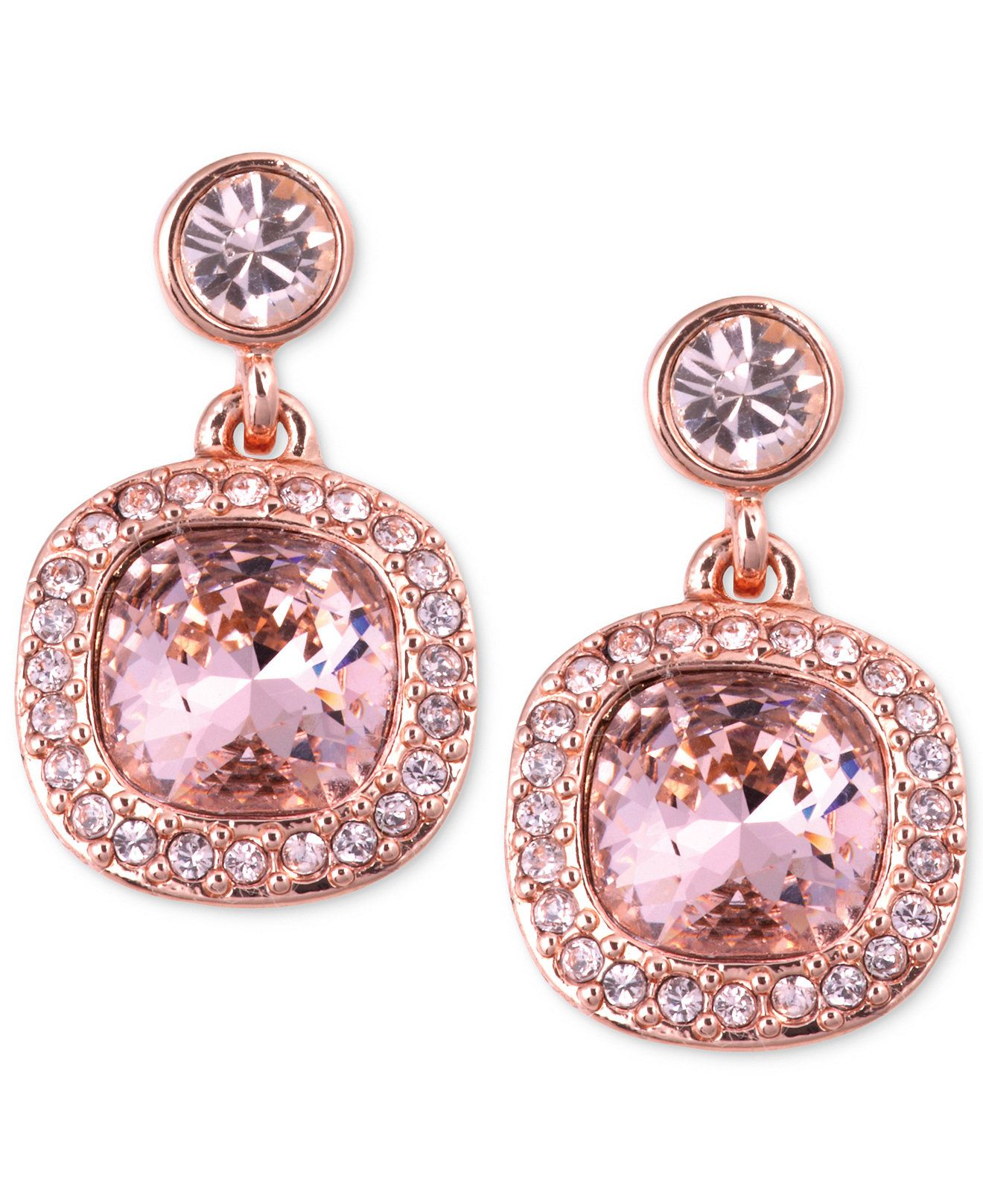 6c4880632 What bridesmaids wouldn't love these delightfully pink Givenchy earrings?  Surprise your girls on the big day with this extra sparkly gift.