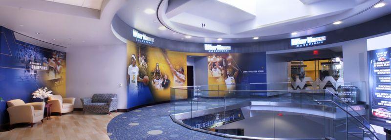 West Virginia University Basketball Practice Facility Massaro Corporation West Virginia West Virginia University Basketball Practice