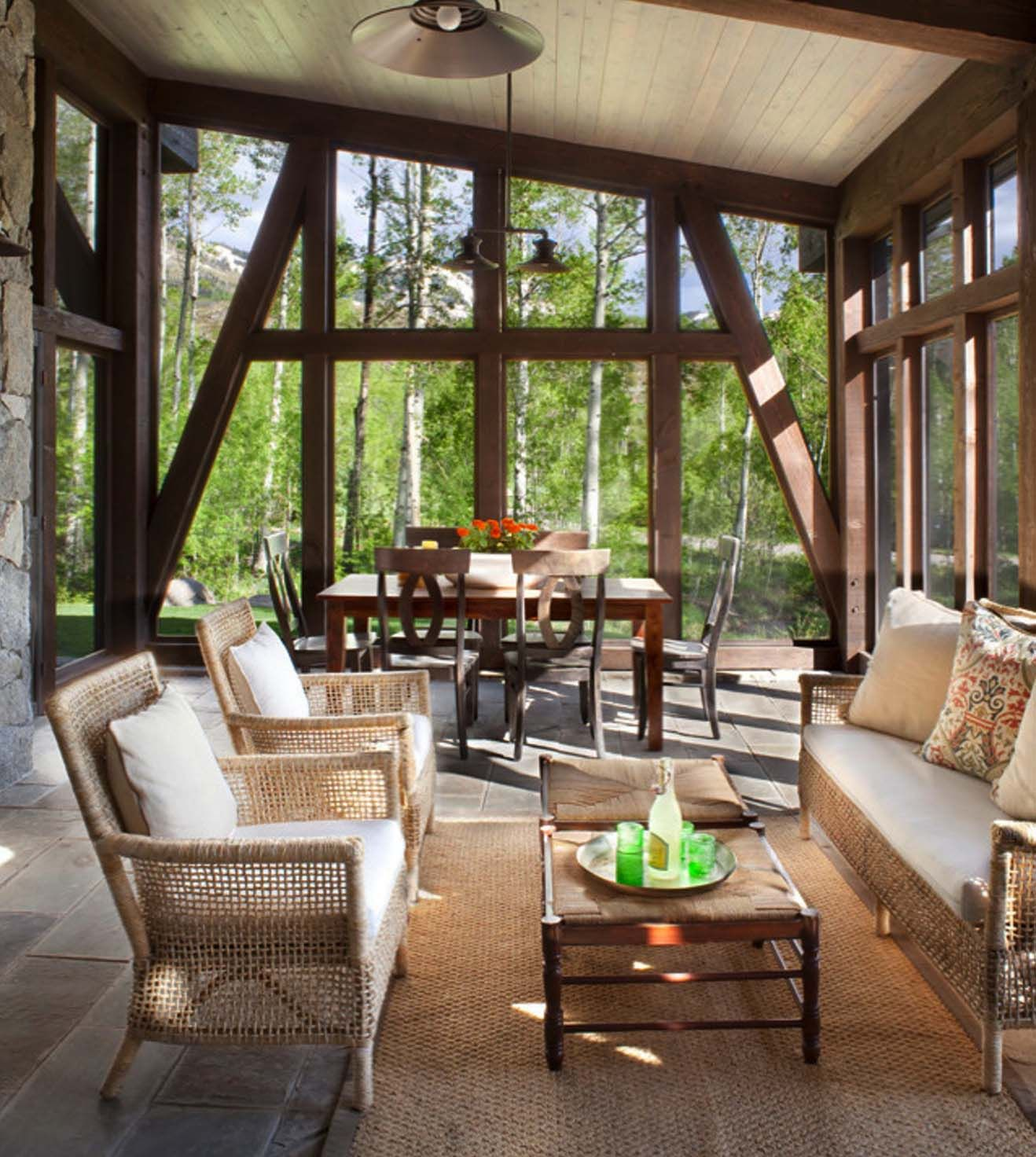 Lovely Colorado Sunroom and Window