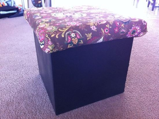 50 Creative DIY Ottoman Ideas | organization crafts | Pinterest