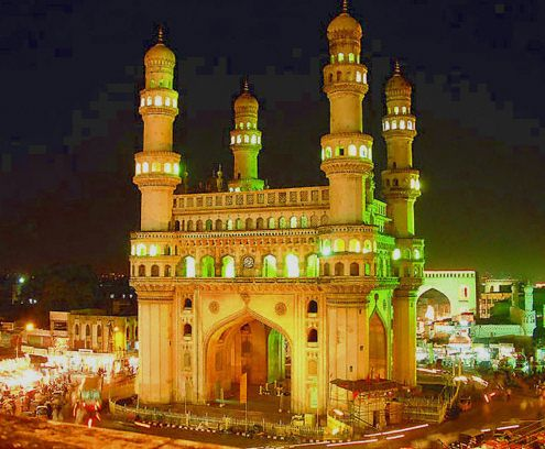 The Charminar, built in 1591 CE, is a monument and mosque located in Hyderabad, Telangana, India. Book Cheap Airline Tickets with agent pricing to Hyderabad with Flipfares.com and get lowest airfares on flight tickets from all major airlines. Click Here: http://goo.gl/YvaEm5 #Hyderabad #India #hyderabadflights
