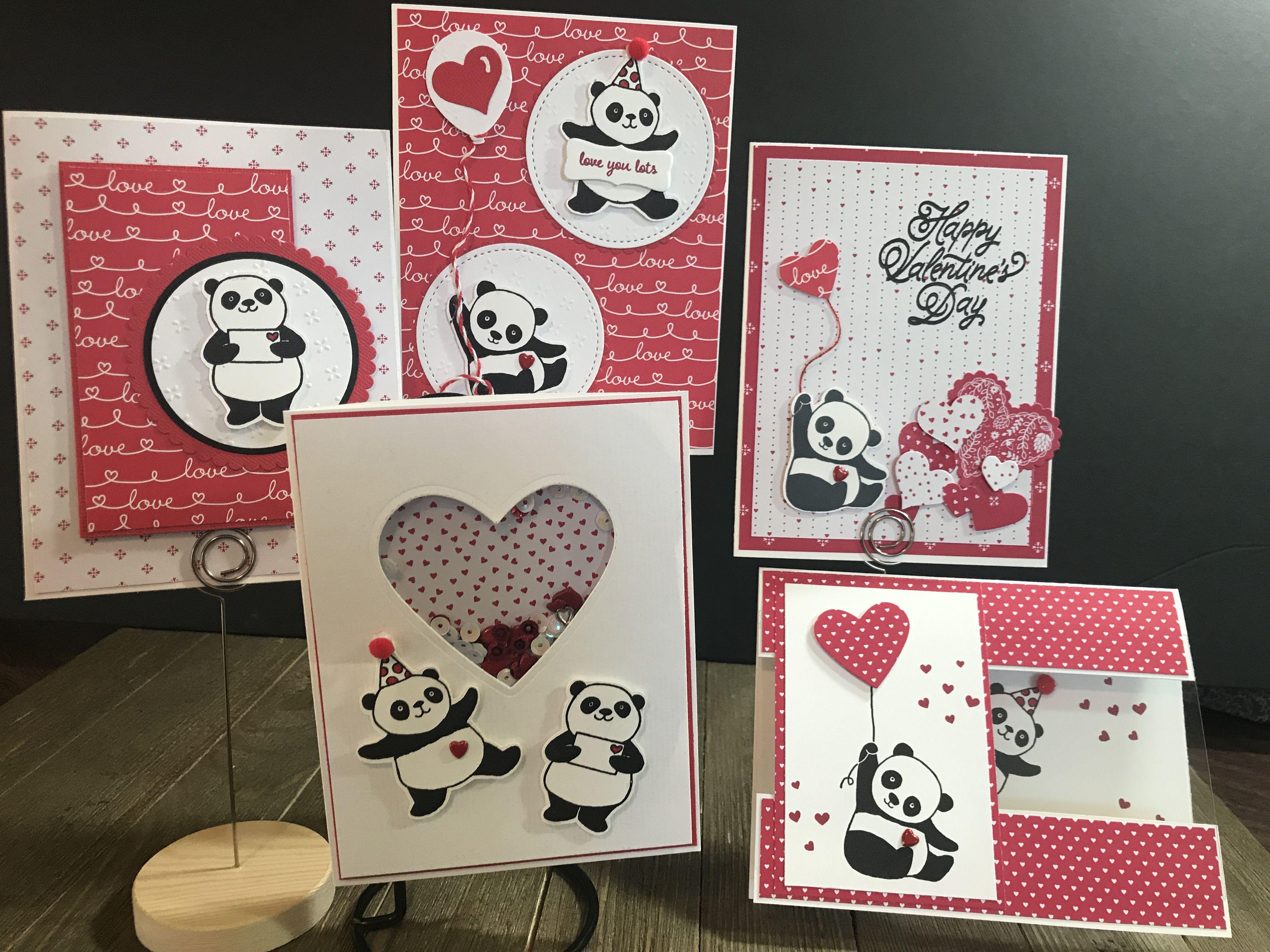 Valentine Party Pandas