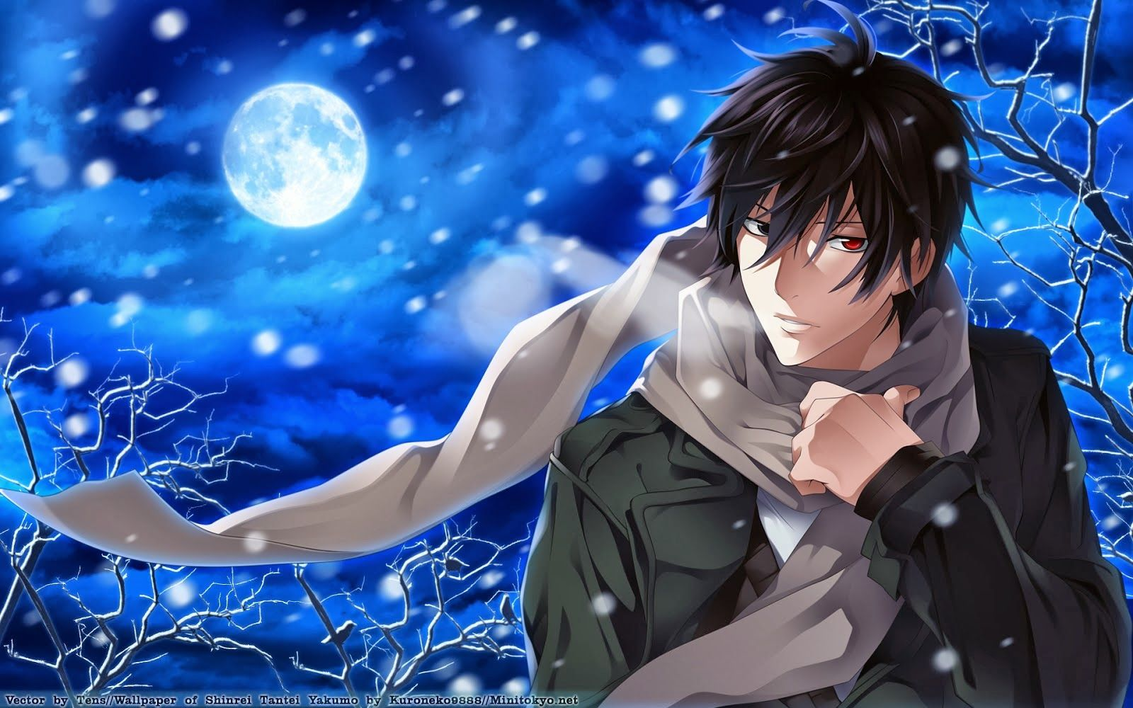 Anime Boy Wallpapers Hd Shinrei Tantei Yakumo Anime Guys