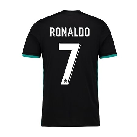 adf8f238b 2017 2018 Cristiano Ronaldo Jersey Number 7 Away Youth Real Madrid Soccer