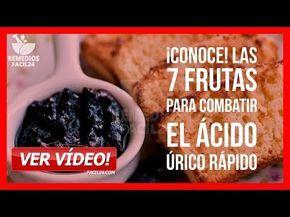 7 Frutas Para Combatir El ácido úrico Rápido Como Bajar Y Eliminar El ácido úrico Youtube Recetas De Remedios Caseros Bebidas Para Adelgazar Jugo De Apio