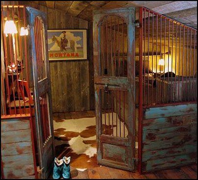 cowboy theme bedrooms - rustic western style decorating ideas ...