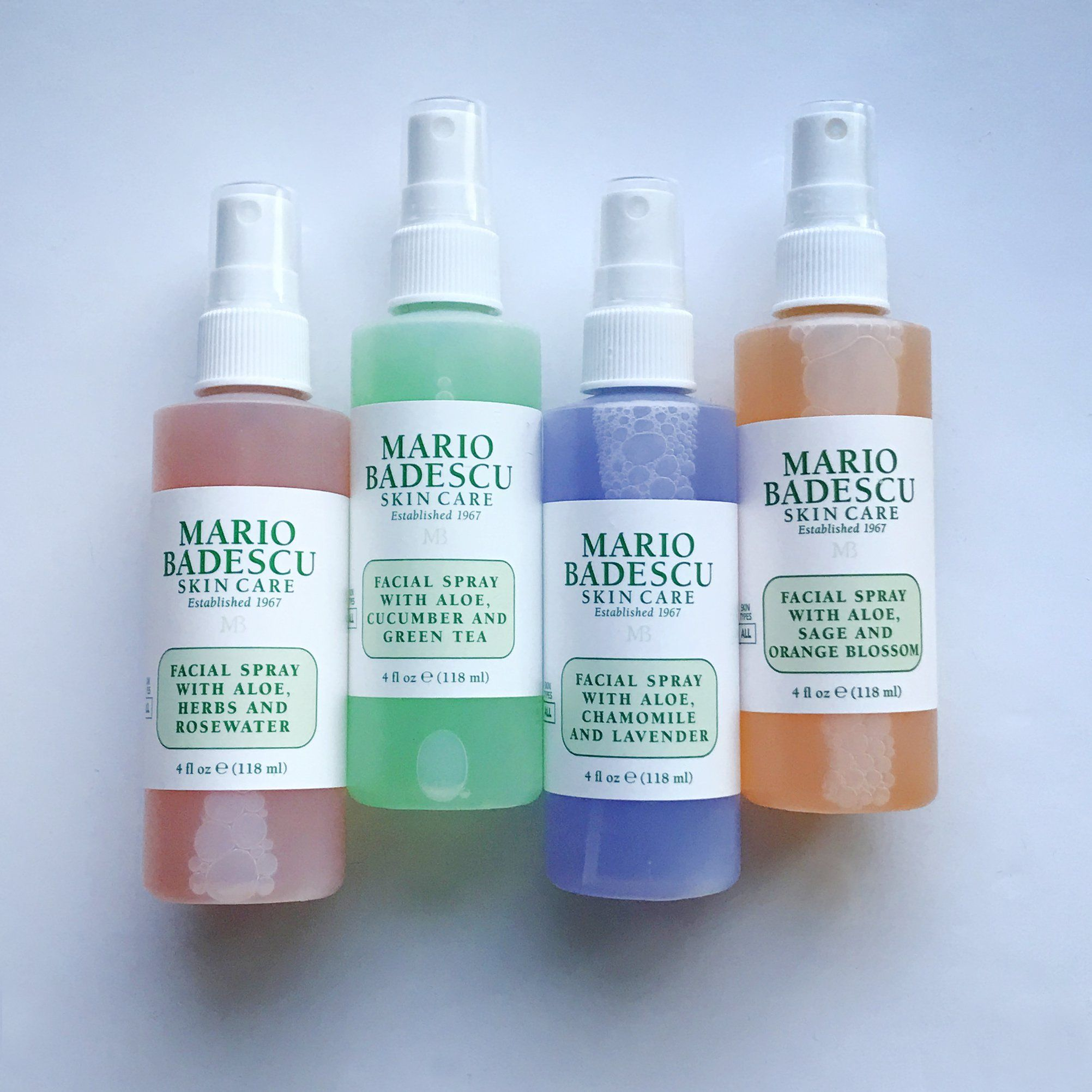 Mario Badescu Facial Sprays What S The Difference Facial