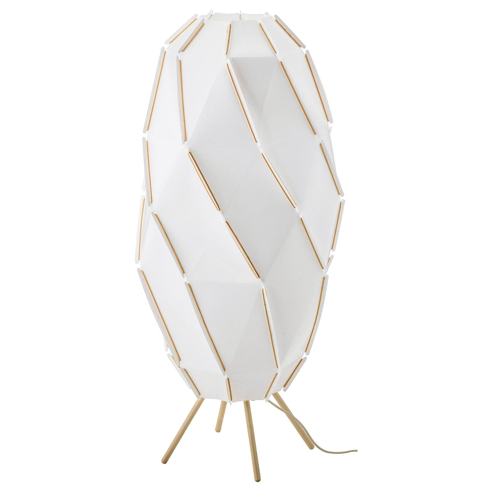 Ikea Sjopenna White Floor Lamp With Led Bulb In 2019 White