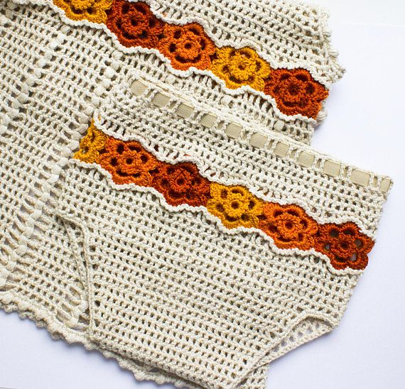 Diaper Cover Pattern, Flower Diaper Cover PDF, Crochet Pattern ...