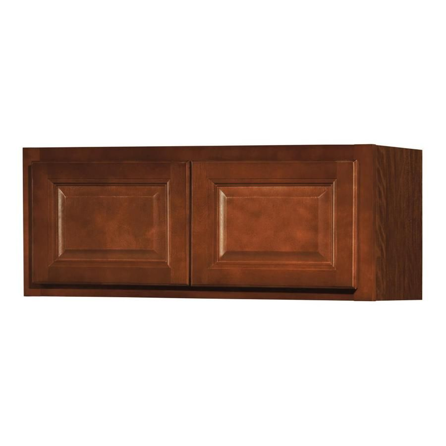 Kitchen Classics Cheyenne 30-in W x 12-in H x 12-in D Saddle Door Wall Cabinet