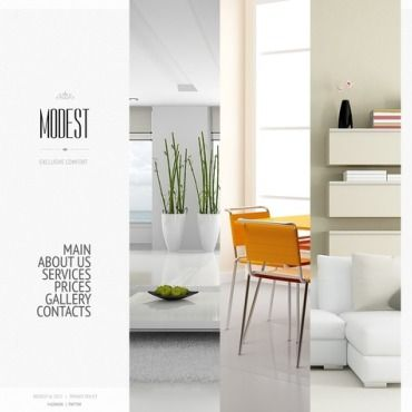 Interior Design Website Templates Interior Design Website - Interior design website templates