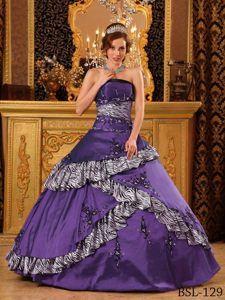 Dark Purple Quinceanera Dresses