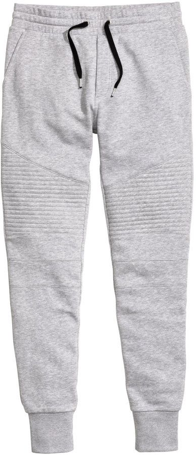 7bbb8f53fbbf H&M - Joggers - Gray - Men - Click link for product details ...